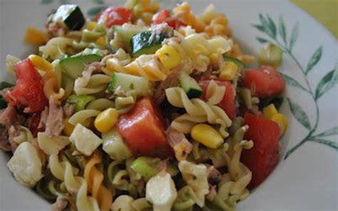 recette salade de pâtes estivale pas chère gt cuisine étudiant