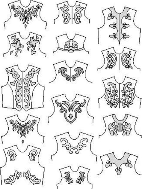 scrolls   appliques pattern