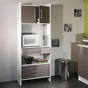 Meuble Cuisine Four : tourdissant meuble de cuisine pour four et micro onde ~ Teatrodelosmanantiales.com Idées de Décoration