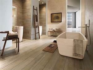 Sol Bois Salle De Bain : rev tement de sol nos conseils pour bien choisir ~ Premium-room.com Idées de Décoration