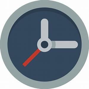 Clock Icon | Small & Flat Iconset | paomedia