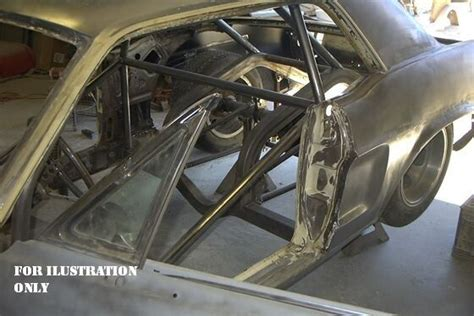 ford mustang pro touring stroker roll cage tubs
