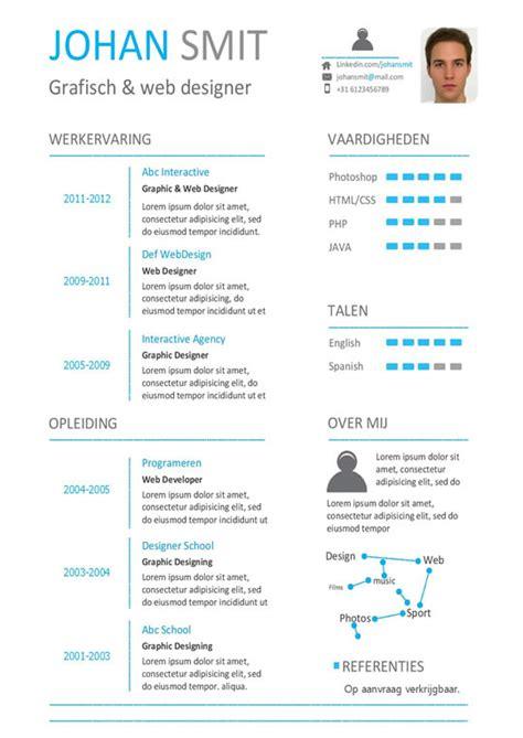 modern home layouts een cv nu die duidelijk jouw informatie in 1 oog