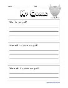 Free Math Worksheets For 6th Grade Collection Of Academic Goal Setting Worksheet Ommunist