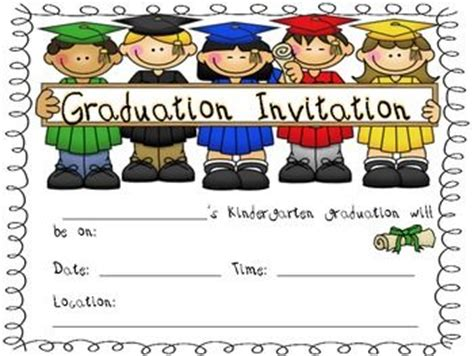 free printable preschool graduation invitations 17 best images about pre k graduation on clip 570