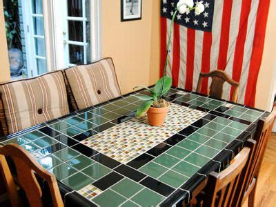 tile top kitchen table 17 best images about kitchen tile table ideas on 6187