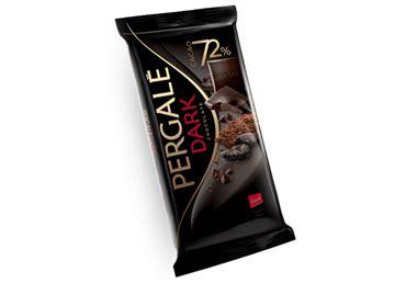 Melnā šokolāde PERGALĖ 72% 100g