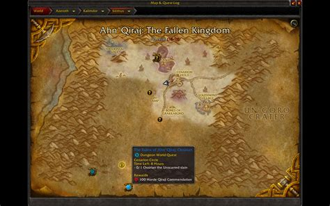 silithus wow scarab map micro patch holiday call quests