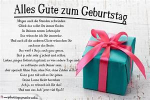Geburtstag Männer Bilder : alles gute zum geburtstag gedicht geburtstagsspr che welt ~ Frokenaadalensverden.com Haus und Dekorationen