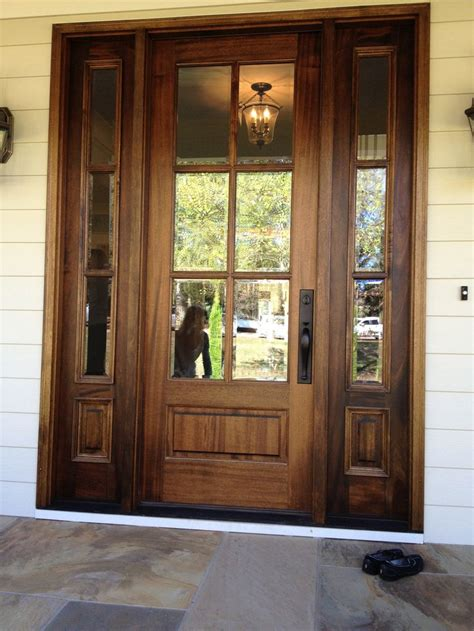 25+ Best Ideas About Glass Front Door On Pinterest  Front