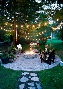 63, Simple, Diy, Fire, Pit, Ideas, For, Backyard, Landscaping, -, 2019