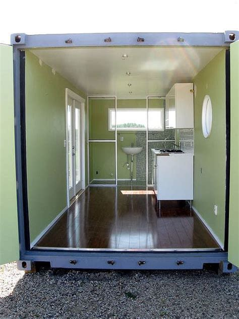 shipping container home interiors shipping container home interior 1 container homes pinterest