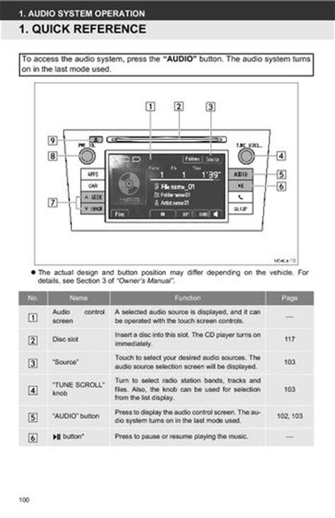 toyota prius toyota universal display audio system