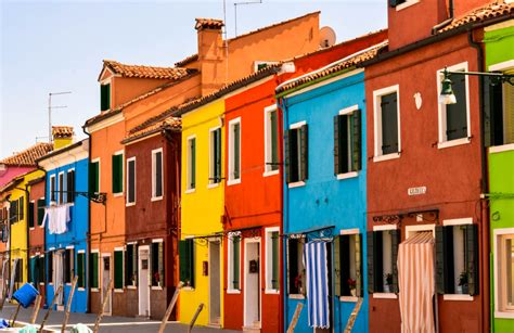 Colourful House by Murano Burano Color