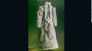 Mysterious gown of salt crystals rises from dead sea cnn for Salt bride sigalit landau