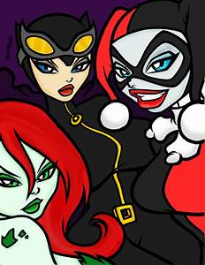 Gotham City Sirens Colored by water-pixie-edd on DeviantArt