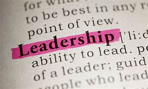 The Definition Of Leadership For A New Generation