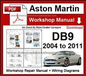service repair manual free download 2010 aston martin vantage spare parts catalogs aston martin db9 workshop service repair manual download