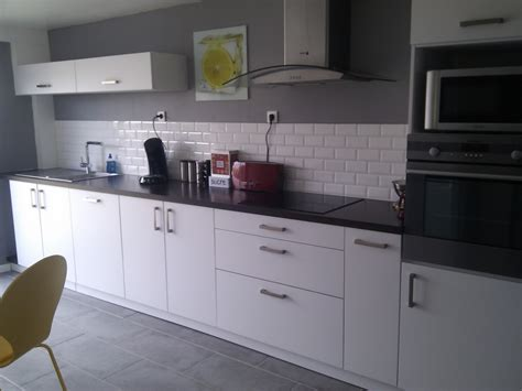 deco cuisine blanc et déco cuisine en gris et blanc