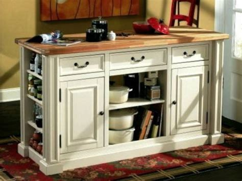 Large White Portable Kitchen Pantry Cabinets With Long
