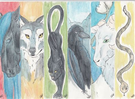 animal bookmarks  flamecurry  deviantart