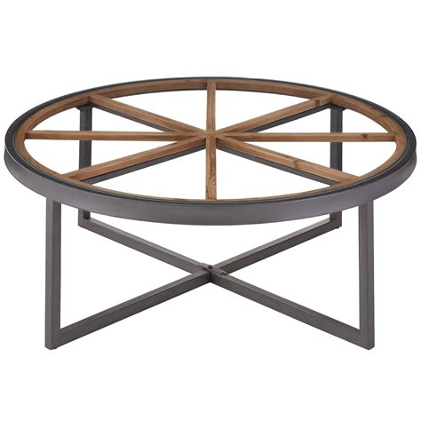 Add style to your home, with pieces that add to your decor while providing hidden storage. Trinity Round Coffee Table   Contemporary Furniture