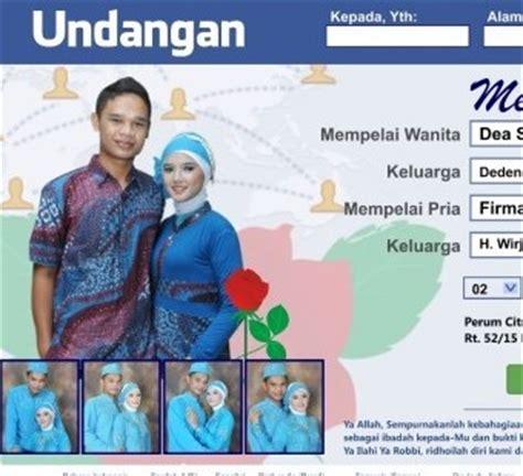 desain undangan pernikahan format vector
