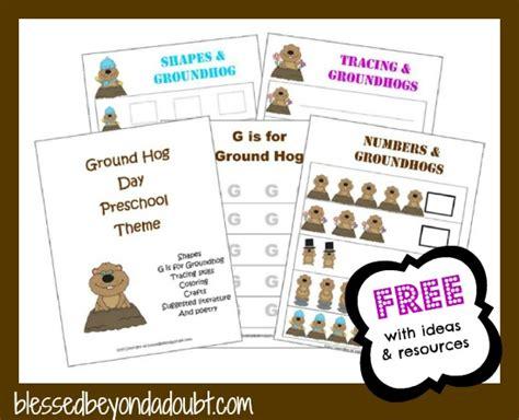 free groundhog preschool theme printables and ideas 720 | ghogimage2