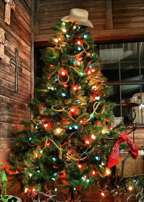 christmas tree inspiration western christmas tree inspiration cowgirl magazine
