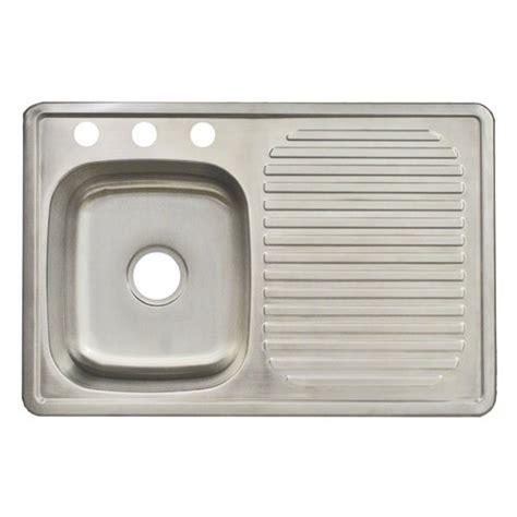 franke fdbs703bx 3 hole single bowl top mount kitchen