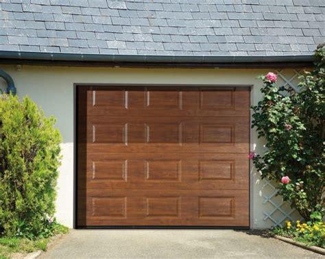 porte de garage sectionnelle motoris 233 e habitat discount portes garage