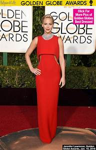Jennifer Lawrence's Dress At Golden Globes — Sexy Red ...