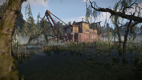 rust game town team ui swamp swamps update bandit biome survival adds deployable compass watchtower gamingonlinux steam