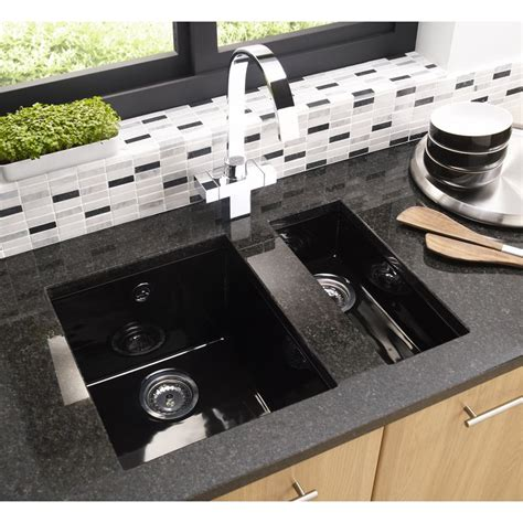 black ceramic undermount kitchen sinks why undermount kitchen sinks are preferred designwalls 7867