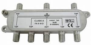 Kabel Tv Verteiler : 6 fach kabel tv antennen signal verteiler splitter 16db ebay ~ Orissabook.com Haus und Dekorationen