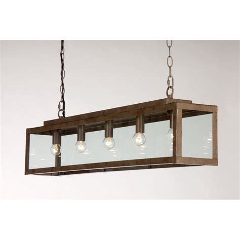 rustic drop ceiling pendant light for table or