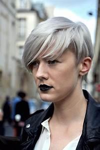 Coupe Courte Femme Cheveux Gris : 1001 exemples parfaits de la coupe courte effil e ne ~ Melissatoandfro.com Idées de Décoration
