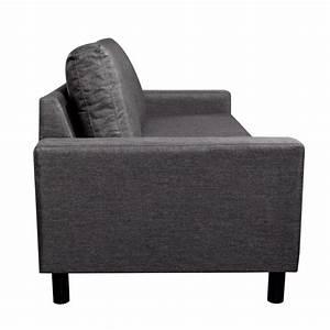 Sofa 3 Sitzer Günstig : sofa 3 sitzer dunkelgrau g nstig kaufen ~ Bigdaddyawards.com Haus und Dekorationen