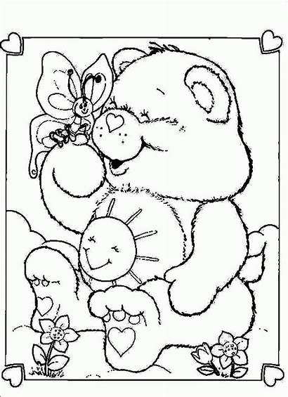 Coloring Pages Care Bear Adults Bears Popular