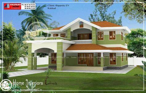 beautiful double floor home design   home plan