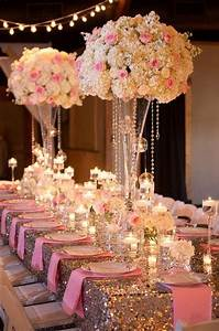 1000+ images about Pink and Gold Wedding Theme on