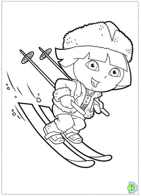 nos jeux de coloriage ski  imprimer gratuit page
