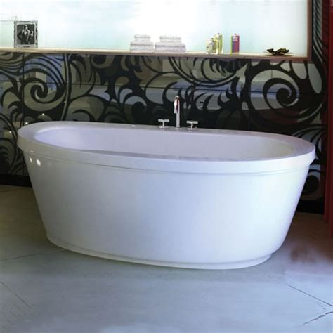 Maax Freestanding Tub by Maax 105359 000 Jazz F Acrylic Soaking Bathtub 66 Quot X 36