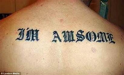 Misspelled Tattoo Tattoos Hilarious Funny Spell Dictionary