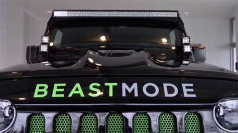 Beast Mode Jeep by Marshawn Lynch S Badass Beast Mode Jeep