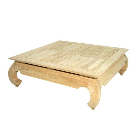 table basse carree but table basse carr 233 e gm opium chine h 233 v 233 a meuble asiatique