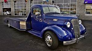1937 Chevrolet Hot Rod Car Hauler