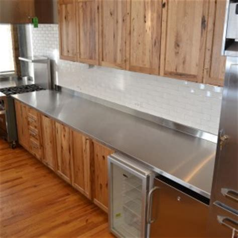 Stainless Steel Countertops Home Depot by Stainless Steel Countertops Custom Metal Home