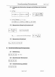 Sättigungsdampfdruck Berechnen : formelsammlung thermodynamik 1 ~ Themetempest.com Abrechnung