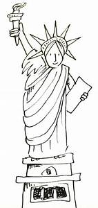 How To Draw The Statue Of Liberty Real Easy Shoo Rayner